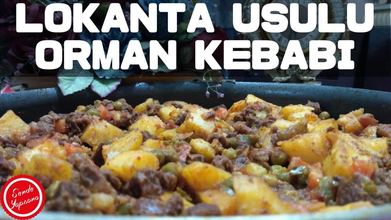 Orman Kebabı Nasıl Yapılır Videosu