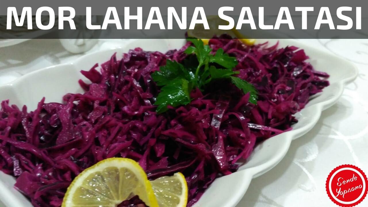 Lokanta Usulu Mor Lahana Salatası Tarifi Videosu
