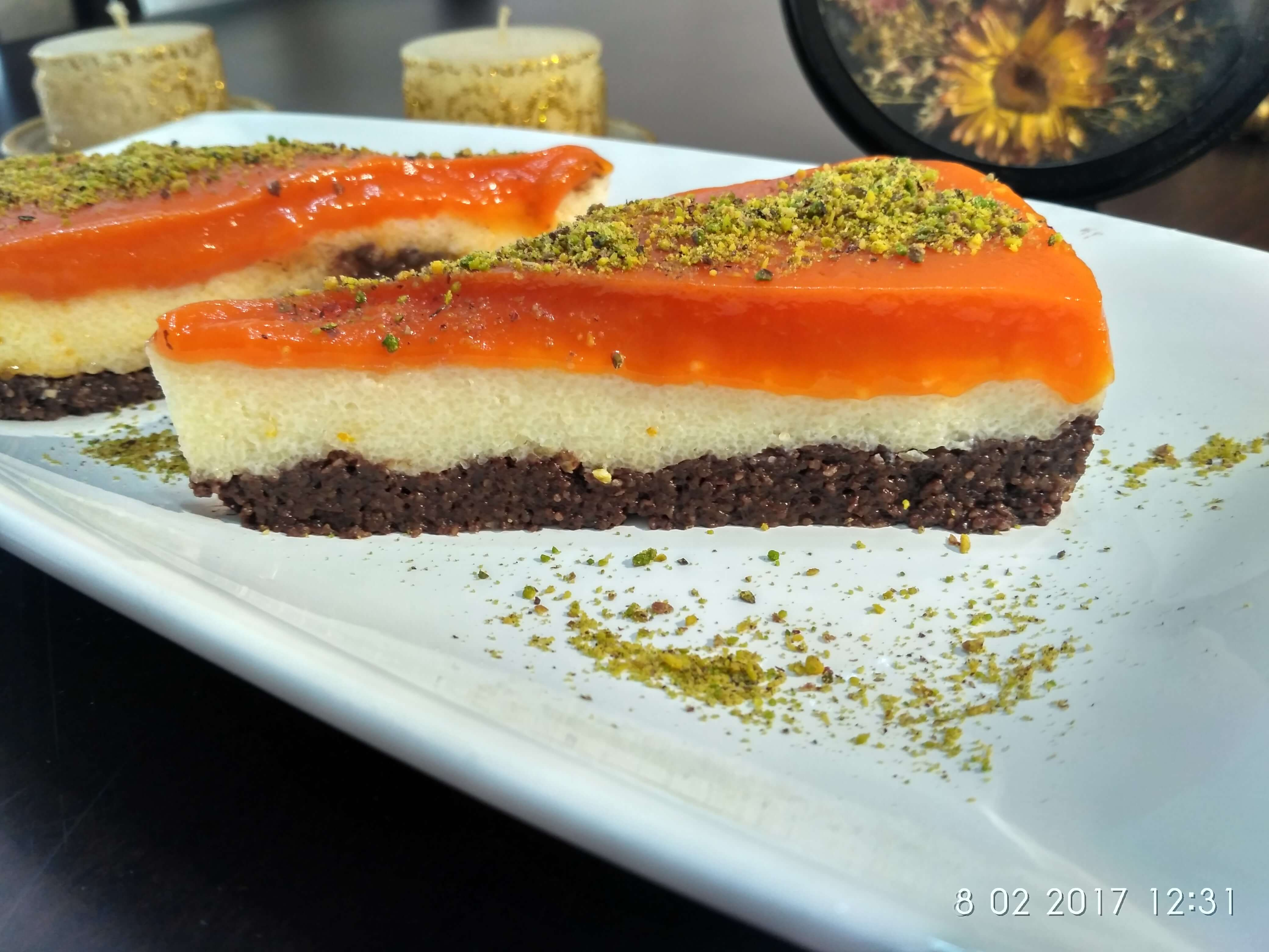 Bisküvili İrmik Pastası (Balkabaklı)